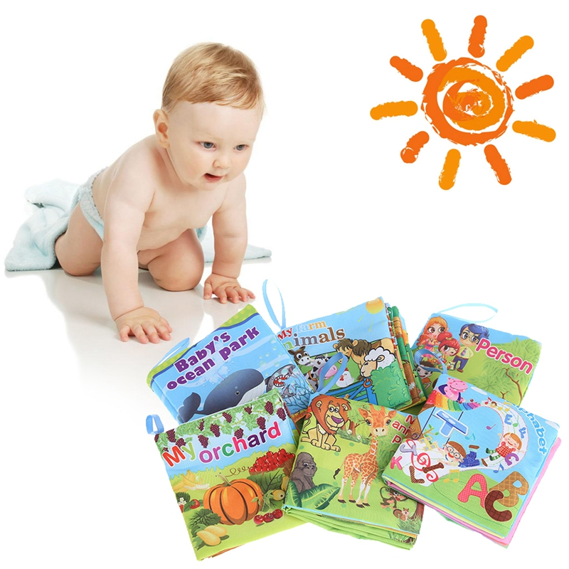 Us 1 56 15 Off Hbb 1pc Baby Cloth Book Cartoon Kid Intelligent Read Development Early Learning Bed Abc Cognize Child Educational Toys On Aliexpress