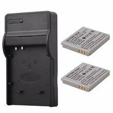 2×1000 mAh Bateria + Carregador USB para Canon NB-4L NB4L IXUS 30 40 50 55 60 65 80 100 I20 110 115 120 130 117 220 225 230 255 HS