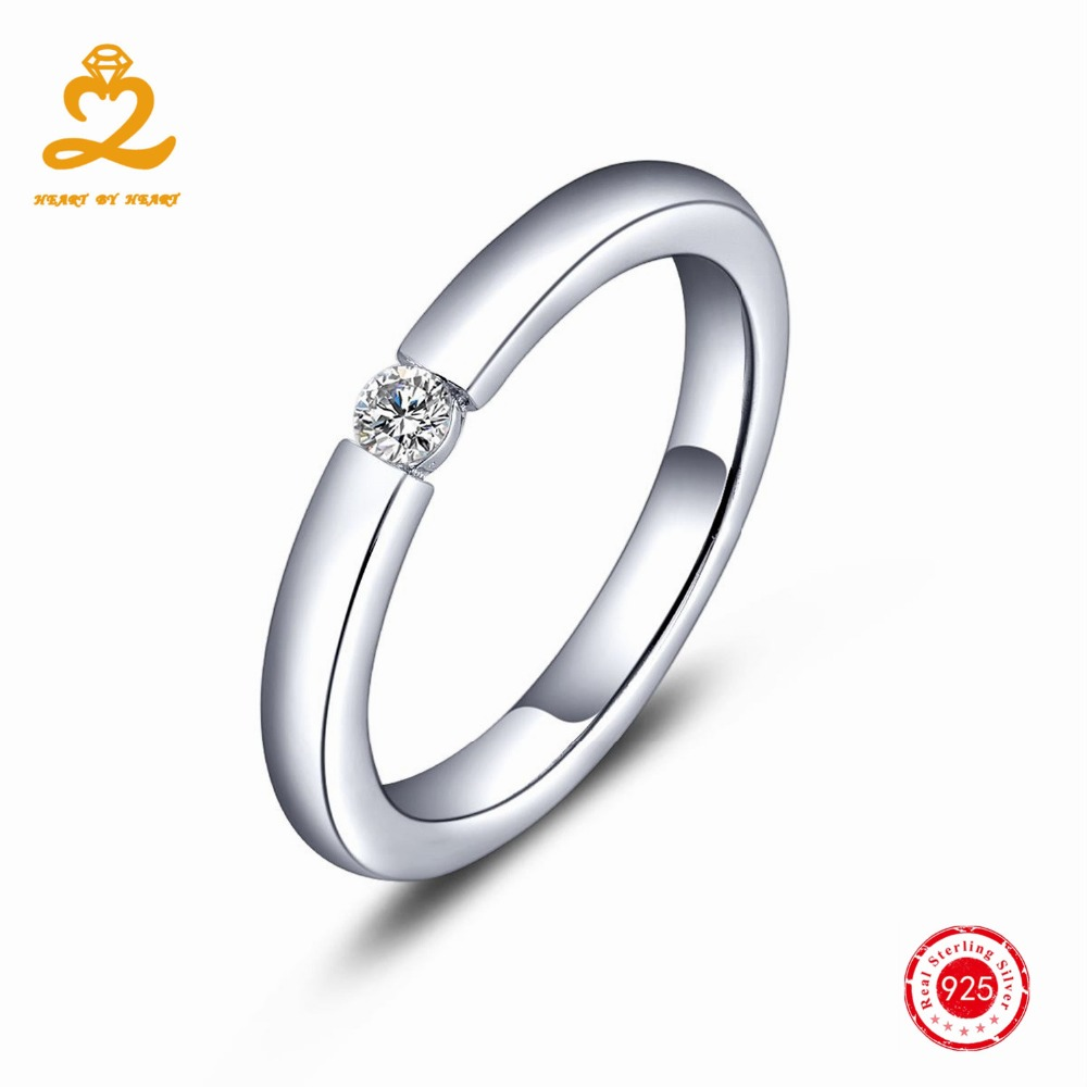 Heart By Heart Men's 925 Silver Rings For Women Men Wedding With Natural  Topaz Gemstone Couple Gift Handmade Ring Fine Jewelry