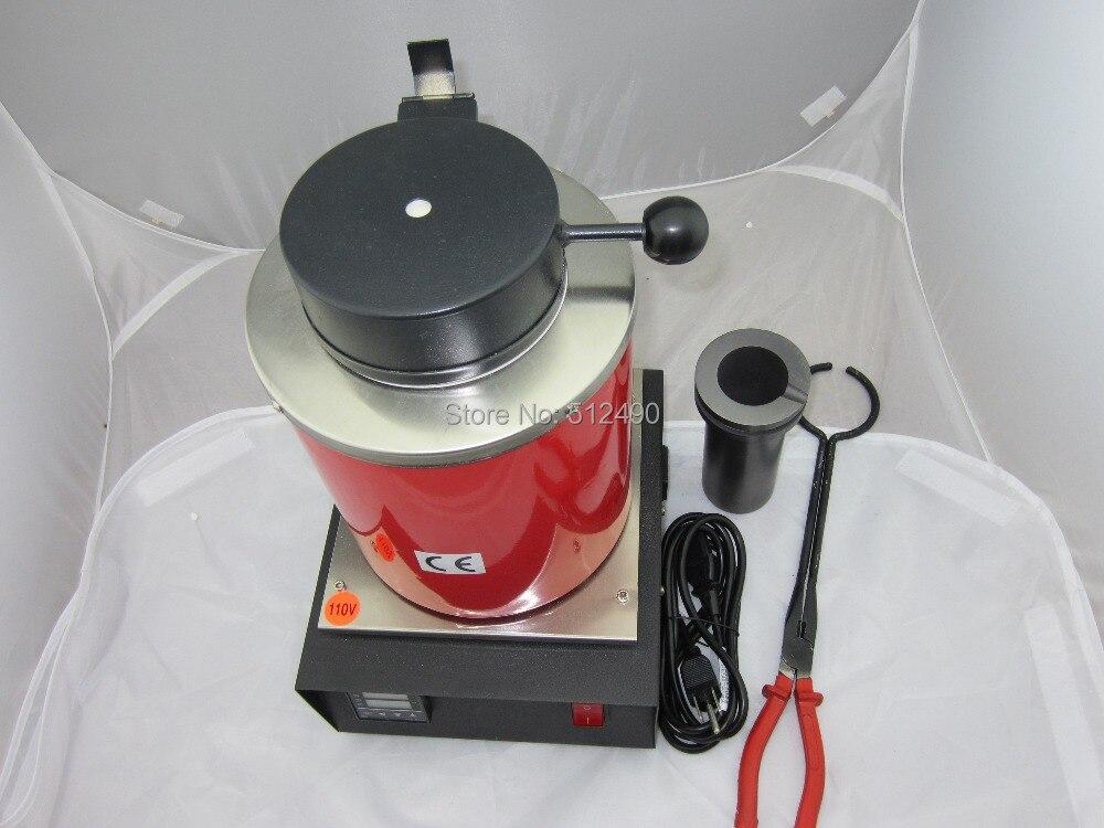 110v Mini Melting Metal Furnace, Electric Fusion Furnace,Jewelry Casting Machine,gold melting furnace,brass melting furnace