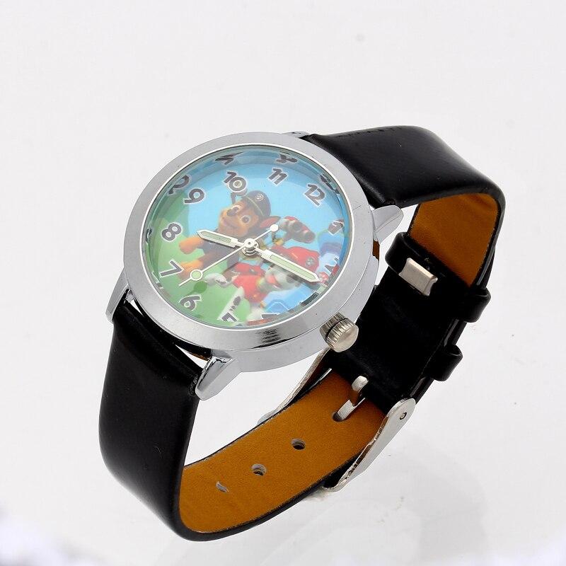 2020 Cartoon Watches Kid Girls Leather Straps Wristwatch Children Quartz Wrist Watch Cute Clock Montre Enfant