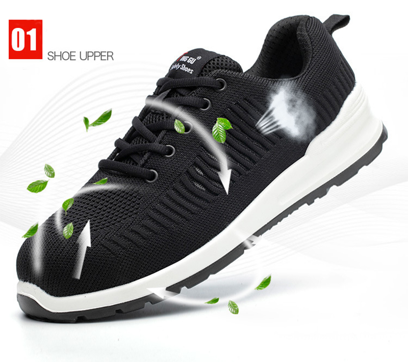 New-exhibition-Flying-mesh-Breathable-Steel-Toe-Cap-Safety-Shoes-Men-anti-pierce-Injection-bottom-work-Safety-boots-2019-Sneaker (11)