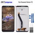 Оригинальный Для Huawei Honor 7C Aum-L41 ЖК-дисплей сенсорный экран дигитайзер Телефон Запчасти для Honor 7C экран ЖК-дисплей бесплатные инструменты
