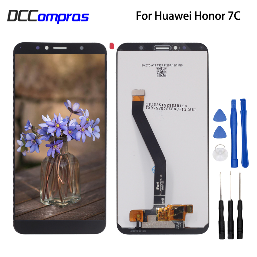 Original For Huawei Honor 7C Aum L41 LCD Display Touch Screen Digitizer Phone Parts For Honor 7C Screen LCD Display Free Tools in Mobile Phone LCD Screens from Cellphones Telecommunications