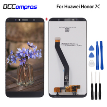Original For Huawei Honor 7C Aum-L41 LCD Display Touch Screen Digitizer Phone Parts For Honor 7C Screen LCD Display Free Tools цена