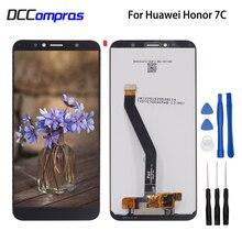 Originale Per Huawei Honor 7C Aum L41 Display LCD di Tocco Digitale Dello Schermo di Parti Del Telefono Per Honor 7C Display LCD Dello Schermo di Trasporto strumenti