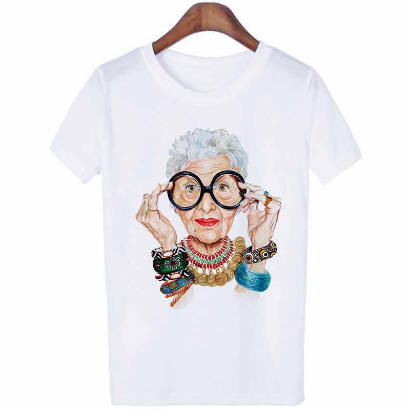 Zomer verhaal vogue Grootmoeder Print T Shirt Vrouwen muse luxe Harajuku Top Voor Tshirt Esthetische Gothic punk Streetwear T-shirts