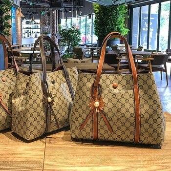 2019 Women's Fashion Bucket Bag Vintage Tassel Messenger High Quality Retro Shoulder Simple Crossbody Bags Tote Wild Handbags