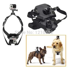 For Go Pro Fetch dog Mount dog Harness Chest Strap Mount for Gopro Camera Hero 4/3+/3/SJ4000 dog chest strap Accessories