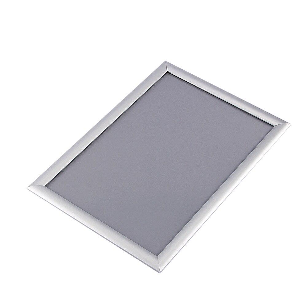 1 unid A3 plata marco cartel clip al por menor pantalla cartelera en ...