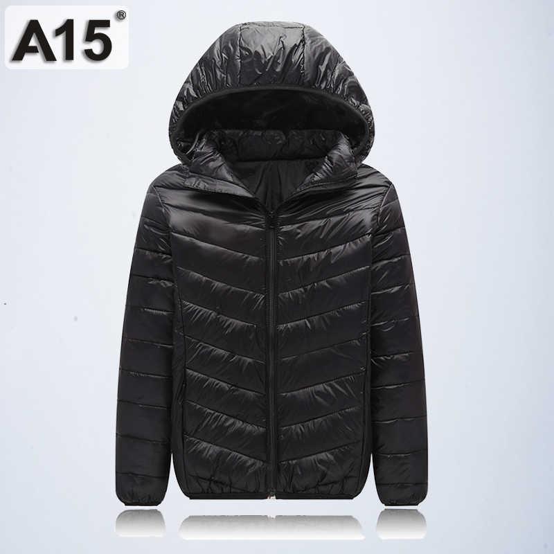 A15 ילדי הלבשה עליונה מעיל חם 2019 ילדה מעיל אביב סתיו חורף ברדס פעוט בגיל ההתבגרות מעילי בני גיל 10 12 14 16 Y
