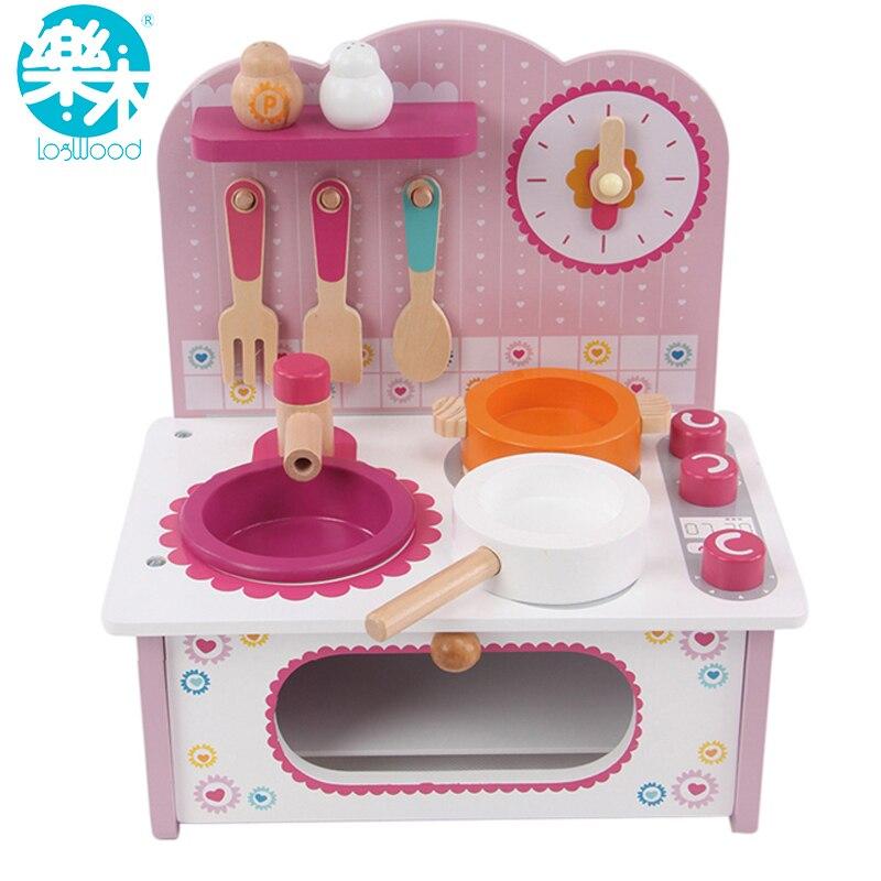 bambino cucina giocattolo del capretto di cottura impostato legno gioca cucina cucina giocattolo per i bambini