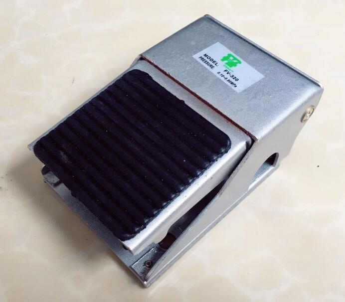 Pneumatic components foot valve FV-320 FV-420 Pedal Switch high quality pneumatic foot pedal valve 4f210 08
