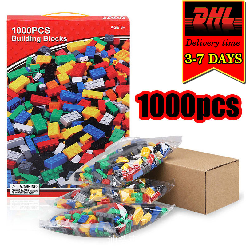 1000pcs DIY Building Blocks Compatible With Legoed Model Quality Good Educational Toys For Kids Children Bricks Figures Plastic цены онлайн