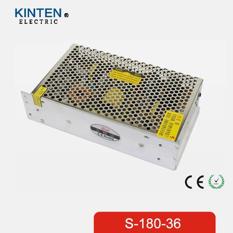 180W 36V 5A Single Output Switching power supply for LED Strip light AC to DC 1200w 48v adjustable 220v input single output switching power supply for led strip light ac to dc