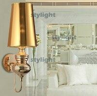 Большие размеры Жозефина бра Современный дизайн настенный светильник гостиная лобби спальня проход освещение коридора бра