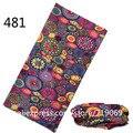 481-500Newest Fashion Stylish Pattern  Scarf With Seamless  Riding Turban Bandanas Magic Headband Veil Multi Scarf Scarves