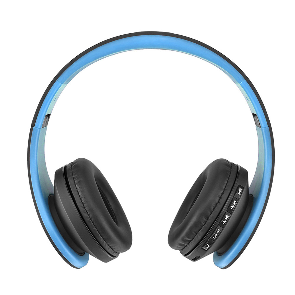 Noise Reduction Wireless Bluetooth Headphone Over-Ear Foldable Earphones Stereo Headset with Mic for Iphone Samsung Smartphones wireless bluetooth foldable headset stereo headphone earphones for iphone samsung