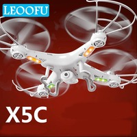 LEOOFU x5c rc helicopter professional drone transmission rchelicopter quadcopter headless mode drone toys for kids birthday gift