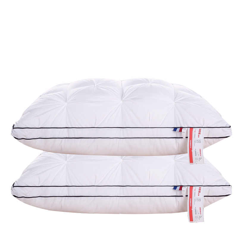 Open business100% package,pure cotton modeling pillow comfortable and soft,Queen's home has elastic high quality sleeping pillow