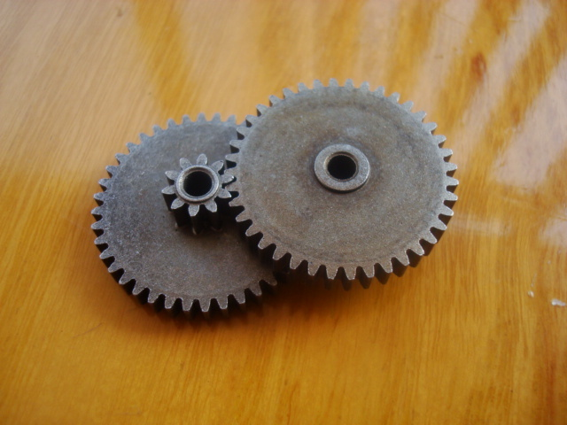High Precision 0.6M Duplex Gear 10T  40T Height 8.5 Mm For 3mm