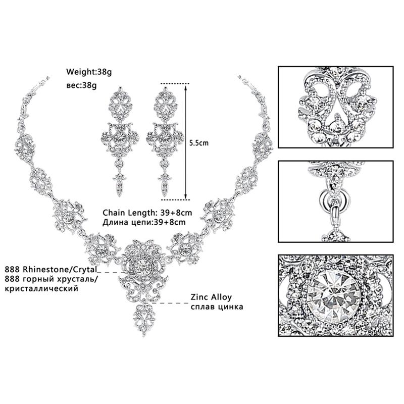 Минмин классикалық кристалдан - Сәндік зергерлік бұйымдар - фото 3