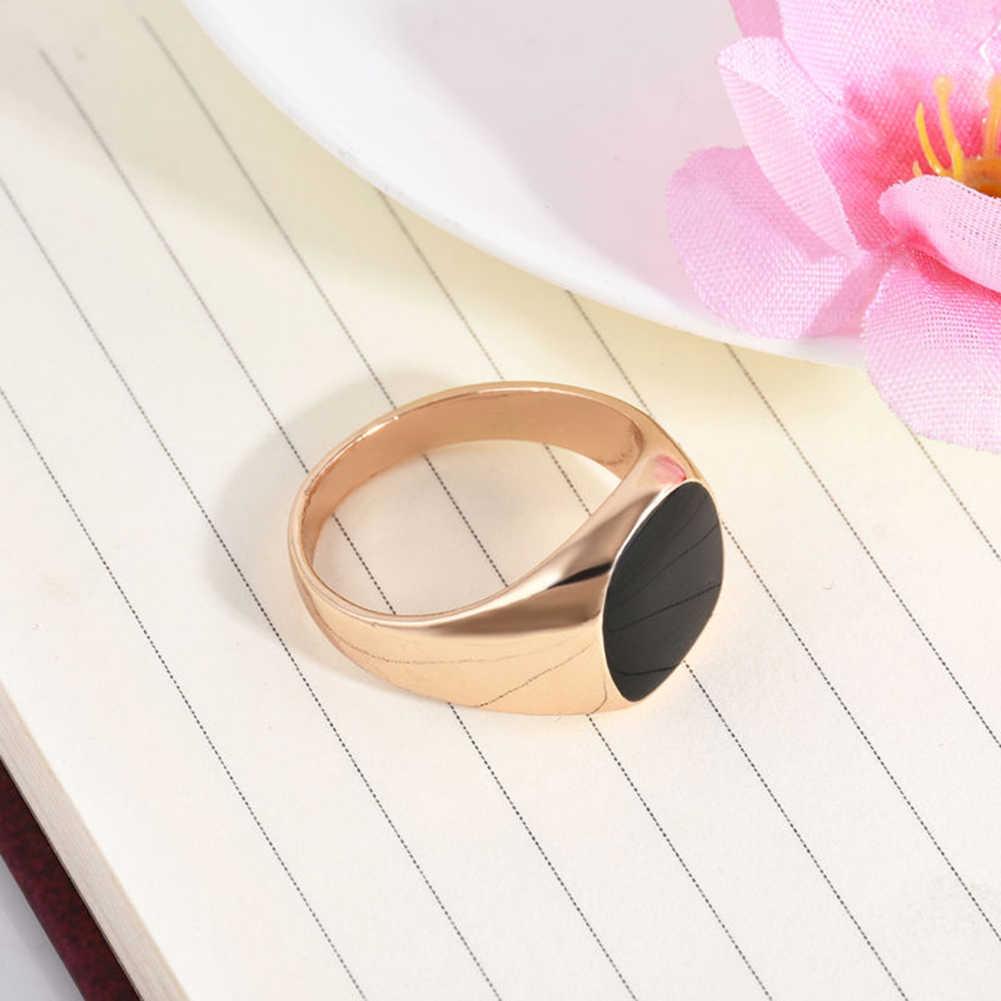 Anel de prata anel de anel de aço inoxidável anel de anel de prata anel de prata