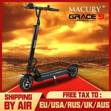 Macury GRACE9 электрический скутер GRACE 9 Ховерборда 2 колеса 8 дюймов 48V600W взрослых Zero 9 8,5 легкий мини складной ZERO9 T9