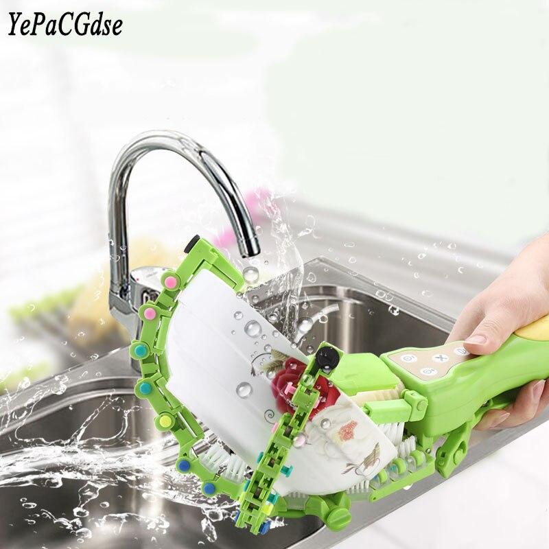 YEPACGDSE Best-vente 2018 portable de poche intelligent lave-vaisselle maison cuisine vaisselle artefact mini rotation laveur