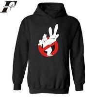 Hip hop oversized hoodie Ghostbusters Hoodies Người Đàn Ông Sang Trọng trong Mens Hoodies và Áo hoodie Winter nam Thời Trang Dạo Phố quần áo