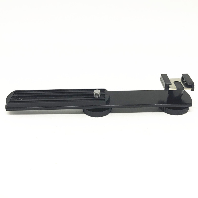 Cold shoe Mic Stand Bracket Adapter for Zhi yun Smooth 4 Smooth Q,tripod Stand for LED Video Light Monitor DSLR camera