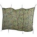 2 M x 4 M Barraca de Acampamento Durável Leve Woodland Camouflage Net Caça Militar Tampa Do Carro Oxford Camuflagem Net