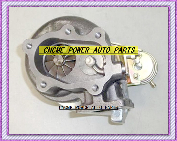 TURBO GT28 T25T28 T25 T28 T2528 Turbine TurboCharger For Nissan S13 S14 S15 comp .60 Turbine .64 ar Water Cooled T25 Flange (4)