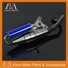Chrome Exhaust System Muffler Pipe For YAMAHA JOG50 JOGR JOGZ JOG R Z Motorcycle Motor bike
