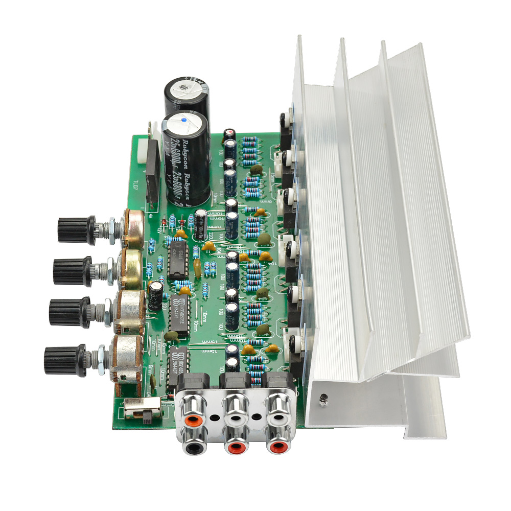 Aiyima Lm1875 51 Channel Audio Amplifier Board Subwoofer Amplifiers Making Home Theater Surround Diy Sound System Speaker 25w6 Super Tda2030 In From Consumer