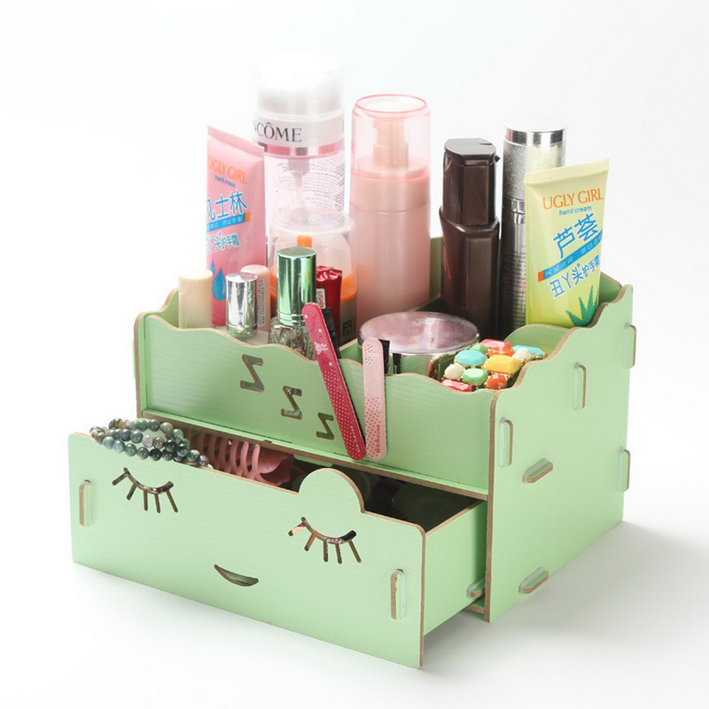 Compare prices on cardboard desk online shopping buy low - Makeup organizer desk ...