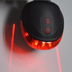 5led 2laser cycling bicycle bike light 7 flash mode safety rear lamp waterproof laser tail warning.jpg 250x250