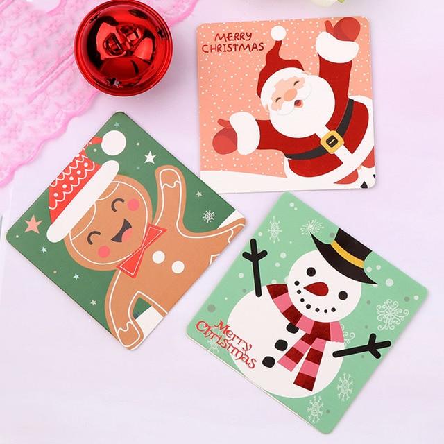 Biglietti Buon Natale Bambini.Mini Babbo Natale Buon Natale Albero Di Carta Carte Regalo Biglietto