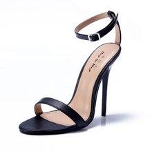 NoEnName_Nullผู้หญิงสีแดงด้านล่างรองเท้าส้นสูงเซ็กซี่ปั๊มสายรัดข้อเท้ากริชD 'O Rsayส้นฤดูร้อนรองเท้าผู้ชายเครื่องรางส้นสูง