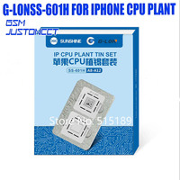 G lon MECHANIC CPU NAND Chip planting heating platform for IPHONE CPU A12 A11 A10 A 9 A8Positioning steel net Repair Remove glue