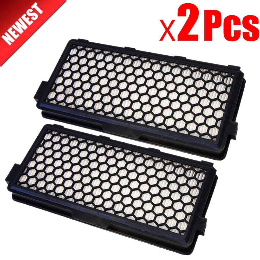 2Pcs Vacuum Cleaner Accessories parts dust Hepa Filter For MIELE SF-AAC 50 S4000 S5000 S6000 Series SR047