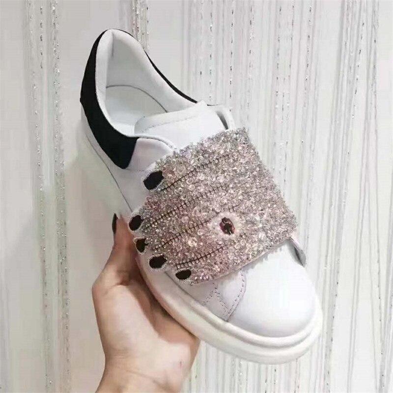 Тапки женские цвет обувь на платформе дышащая шнуровка Дамская обувь для отдыха diamond ладони плоские кроссовки модные кроссовки