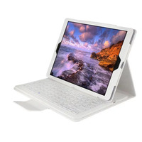 For Ipad Pro 12 9 Case Stand PU Leather Removable Wireless Bluetooth Keyboard Case For Apple