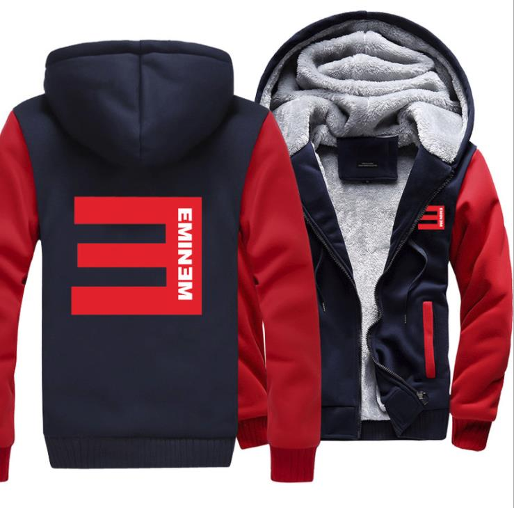 Top  Eminem Rap God Autumn//Spring Hoodies Jackets Coat Cosplay Costume #
