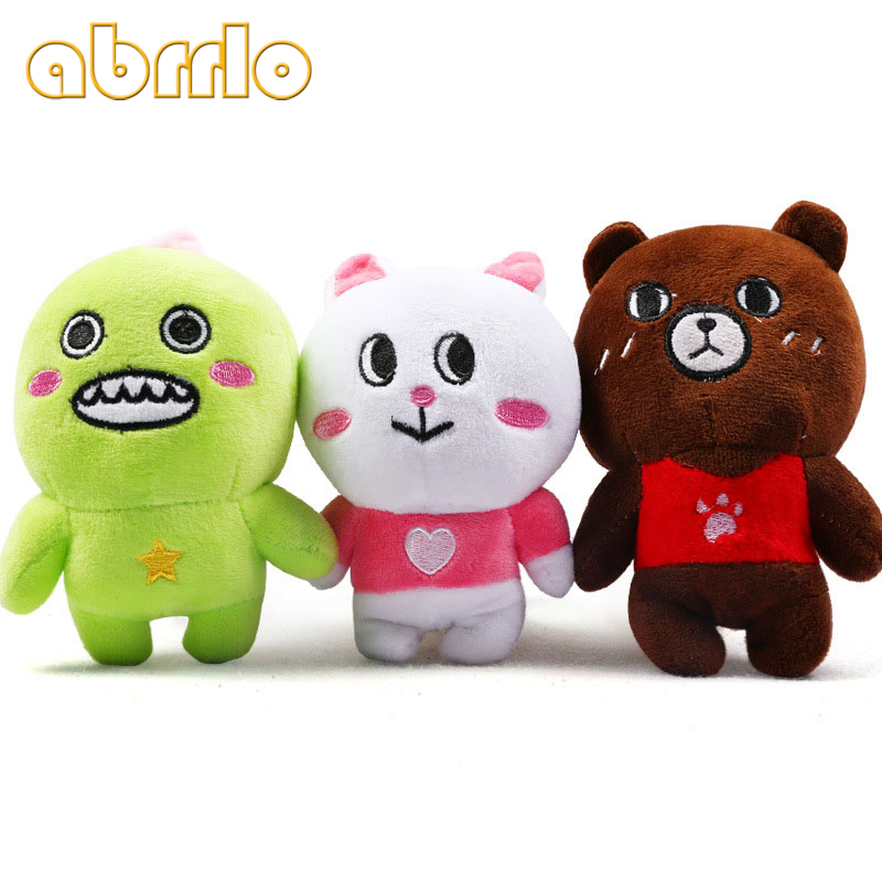 Abrrlo Cute Dog Pet Toys Puppy Soft Plush Squeak Dog Toys Pet Puppy Chew Squeaking Sound High Quality Funny Animals Rabbit Toy