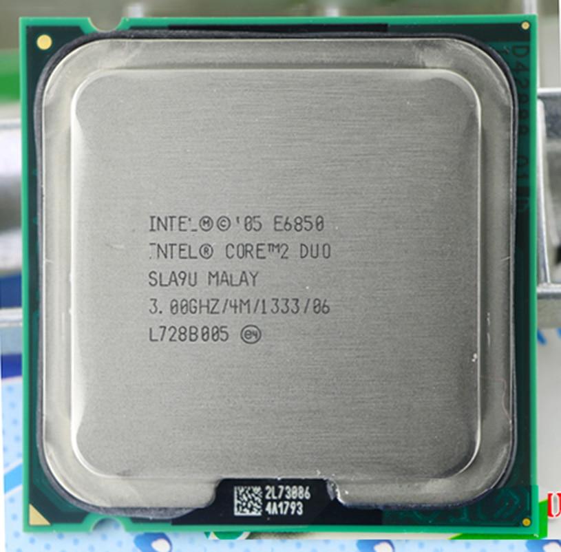 Origianl E6850 Socket LGA 775 CPU Processeur (3.0 Ghz/4 M/1333 GHz)
