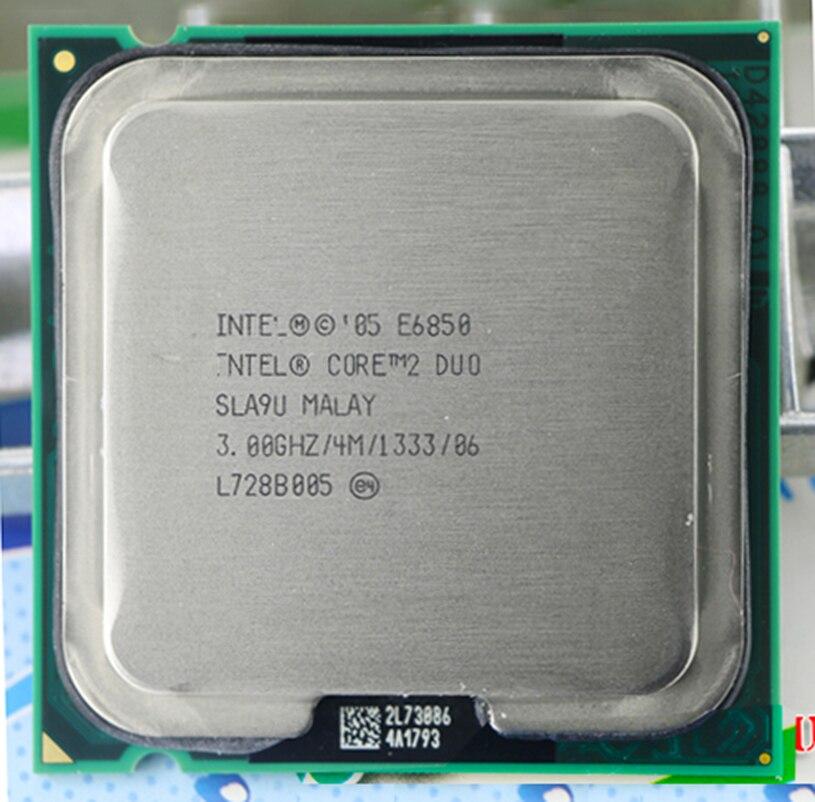 Original E6850 Socket LGA 775 CPU (procesador de 3,0 Ghz/4 M/1333 GHz)