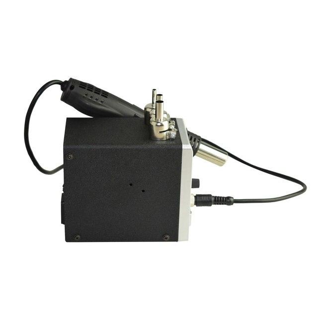 Sans plomb Eruntop 858D 8586 Station de soudure LED numérique poste de dessoudage de fer BGA station de soudure de reprise pistolet à Air chaud