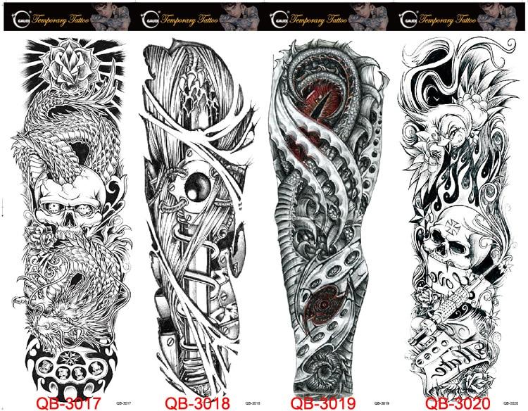 Gold Choker Temporary Tattoo Body Art Sleeve Arm Flash Tattoo Stickers