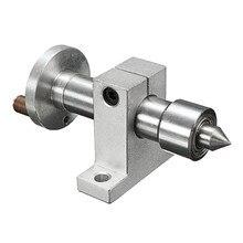 DANIU réglable Double roulement en direct Centre métal tournant avec 2 pièces clés bricolage accessoires pour Mini tour Machine
